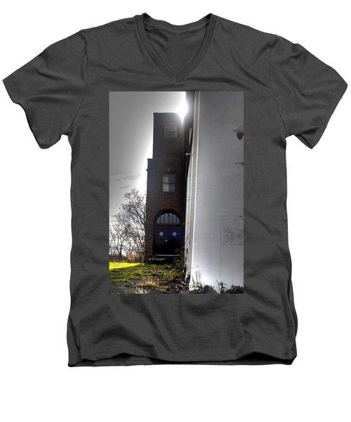 Darkened Door Men's V-Neck T-Shirt