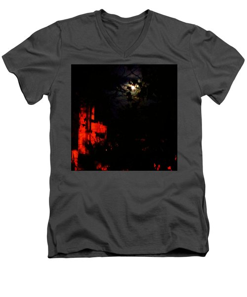 Darkness Men's V-Neck T-Shirt