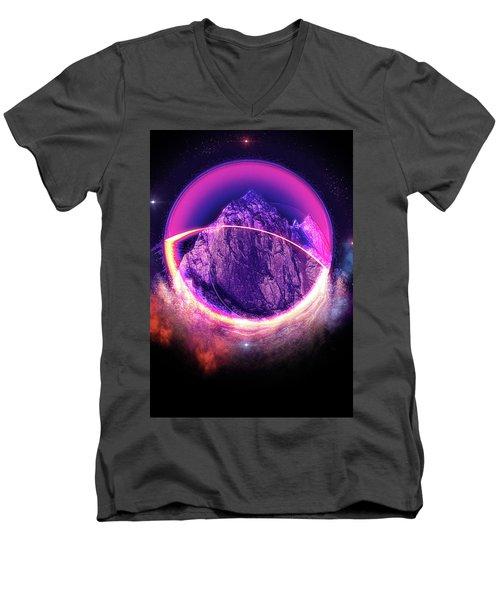 Darkside Of The Moon Men's V-Neck T-Shirt