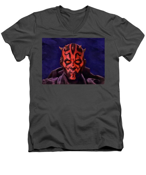 Darth Maul Dark Lord Of The Sith Men's V-Neck T-Shirt