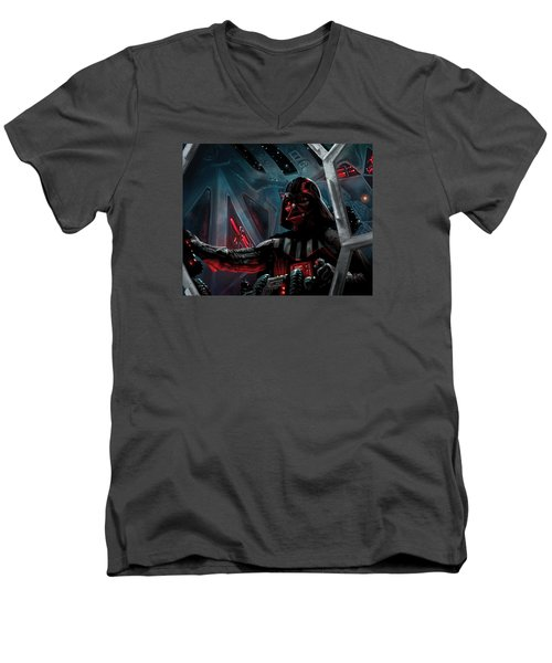 Darth Vader, Imperial Ace Men's V-Neck T-Shirt