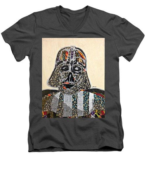Darth Vader Star Wars Afrofuturist Collection Men's V-Neck T-Shirt