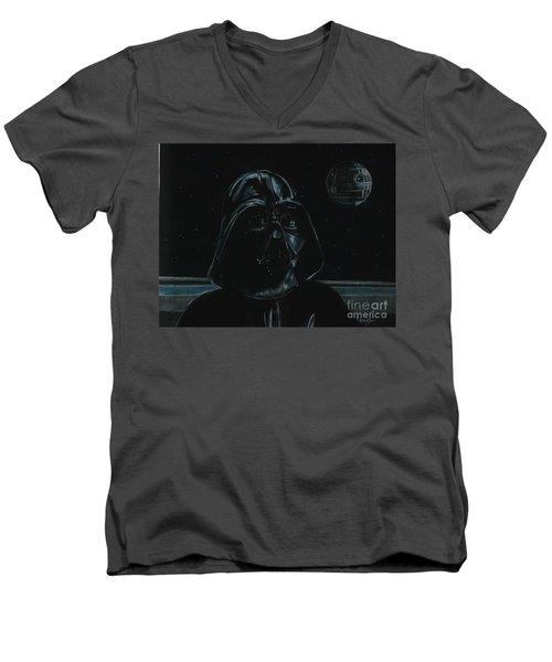 Darth Vader Study Men's V-Neck T-Shirt