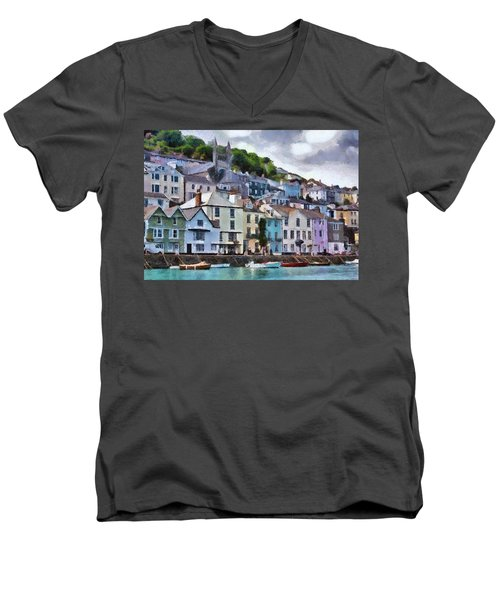 Dartmouth Devon Men's V-Neck T-Shirt