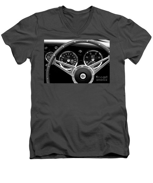 Men's V-Neck T-Shirt featuring the photograph Dashboard by Stephen Mitchell