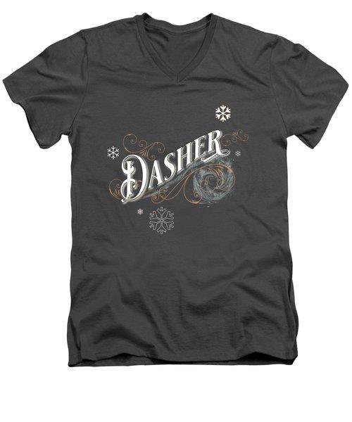 Dasher Men's V-Neck T-Shirt