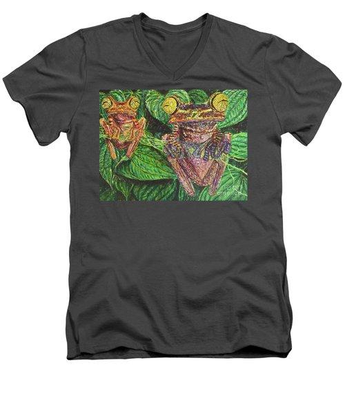 Date Night Men's V-Neck T-Shirt