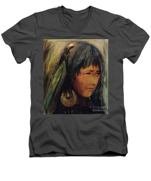 Daughters Of The Earth Men's V-Neck T-Shirt