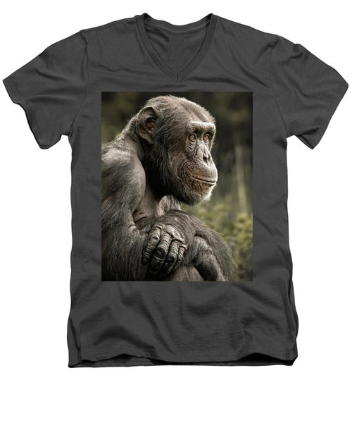 Dave Men's V-Neck T-Shirt