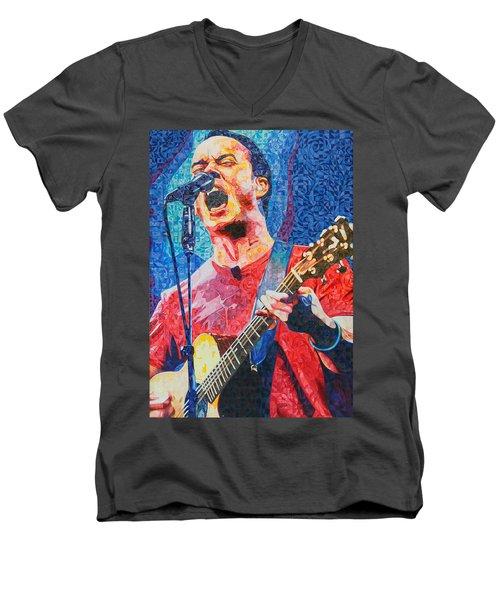 Dave Matthews Squared Men's V-Neck T-Shirt