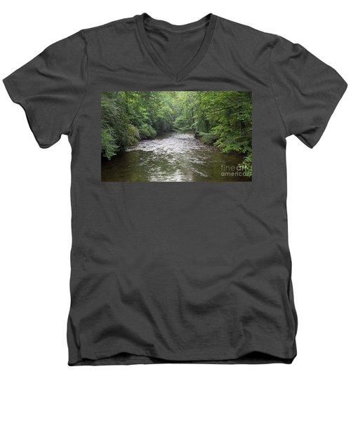 Davidson River Men's V-Neck T-Shirt