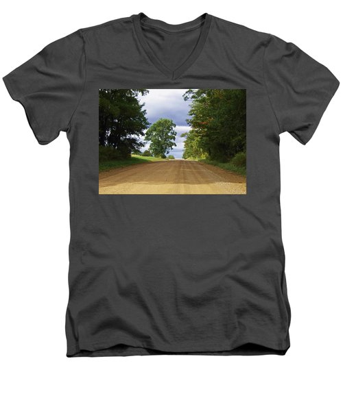 Davis Hill Rd. Men's V-Neck T-Shirt