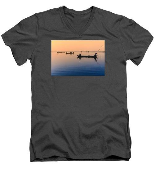 Dawn, Amarapura Men's V-Neck T-Shirt