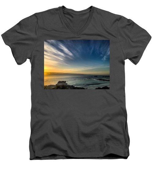 Dawn Clarity Men's V-Neck T-Shirt