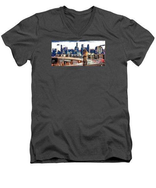 Dawn Commute Men's V-Neck T-Shirt