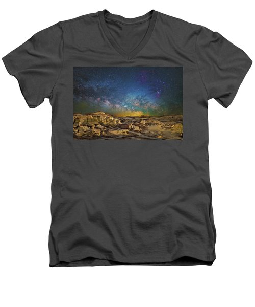 Dawn Of The Universe Men's V-Neck T-Shirt