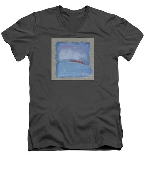 Dawn Of Winter Men's V-Neck T-Shirt