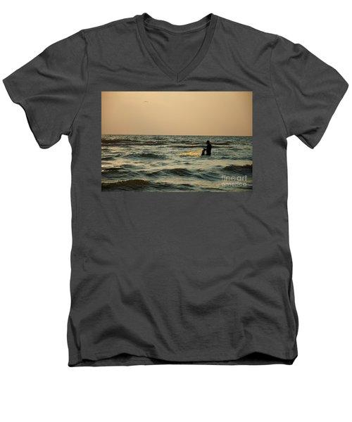 Dawn Vii Men's V-Neck T-Shirt