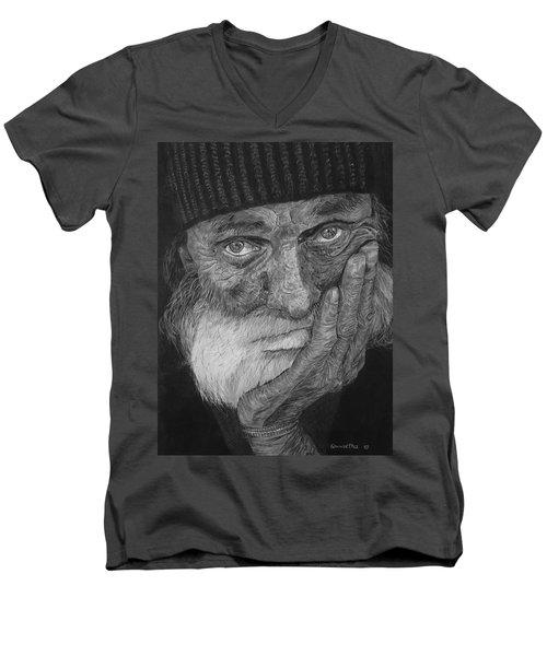 Mr. Mike Men's V-Neck T-Shirt