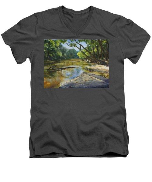 Day Off Men's V-Neck T-Shirt