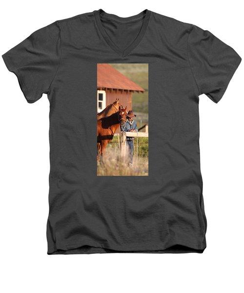 Day Thoughts Men's V-Neck T-Shirt