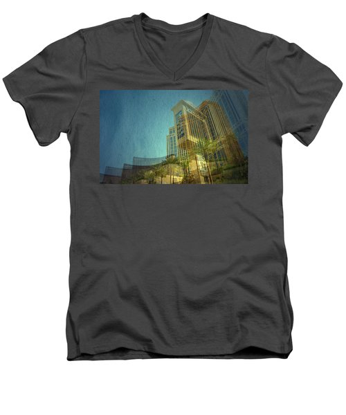 Men's V-Neck T-Shirt featuring the photograph Day Trip by Mark Ross