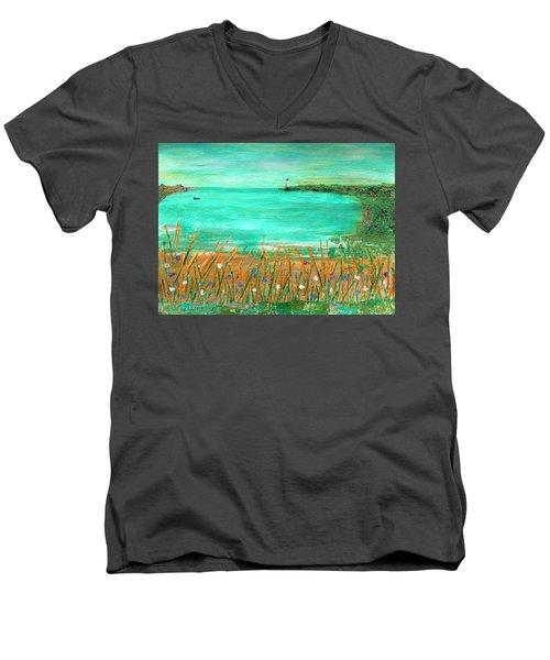 Dayatthebeach Men's V-Neck T-Shirt