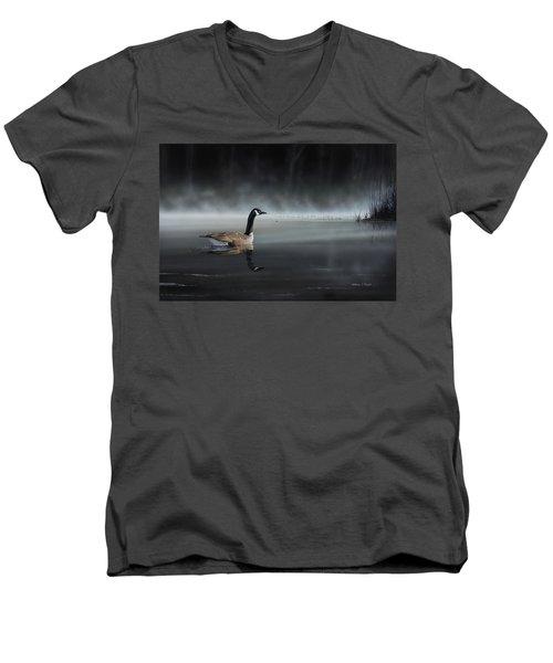 Daybreak Sentry Men's V-Neck T-Shirt