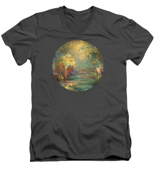 Daydream Men's V-Neck T-Shirt by Mary Wolf