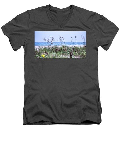 Daydreaming Men's V-Neck T-Shirt by Nance Larson