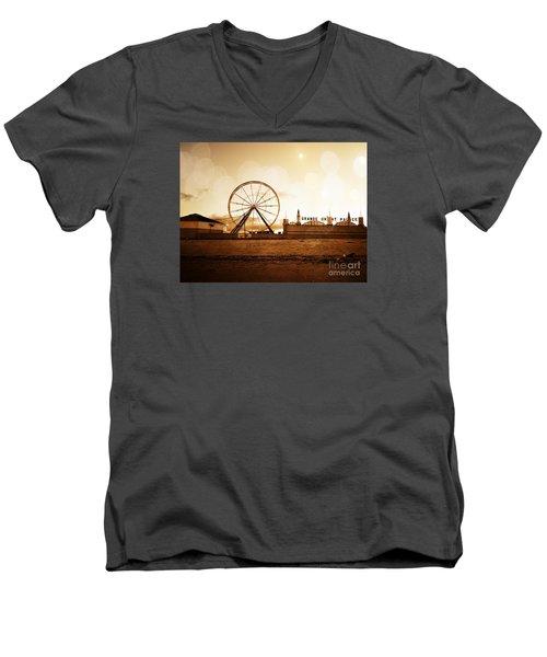 Days End Men's V-Neck T-Shirt