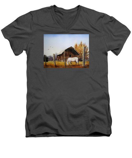 Days Gone By Men's V-Neck T-Shirt