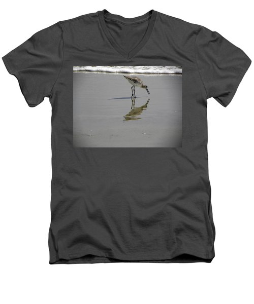 Daytona Beach Shorebird Men's V-Neck T-Shirt