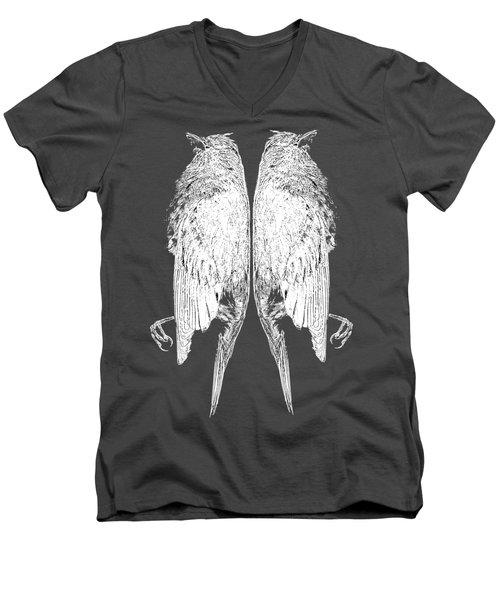 Dead Birds Tee White Men's V-Neck T-Shirt