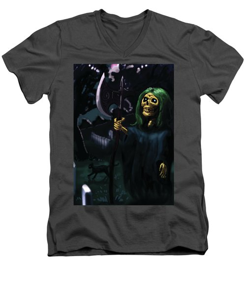 Death Men's V-Neck T-Shirt