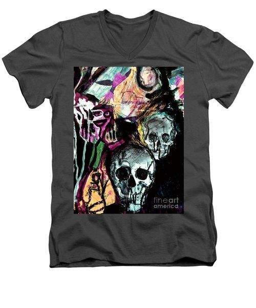 Death Study-2 Men's V-Neck T-Shirt