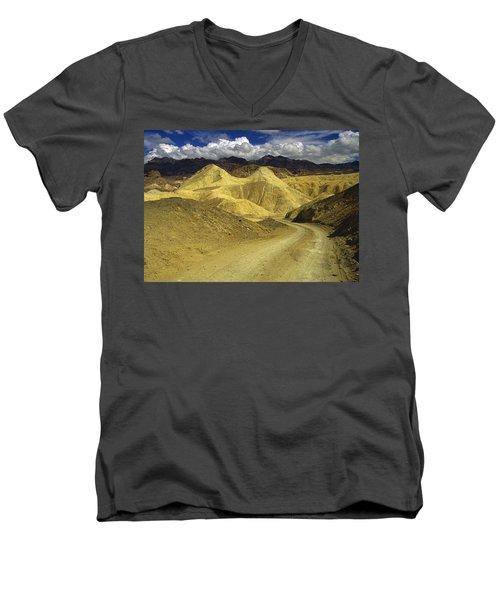 Death Valley, California Men's V-Neck T-Shirt