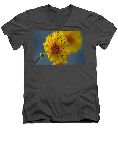 Death Valley Superbloom 102 Men's V-Neck T-Shirt