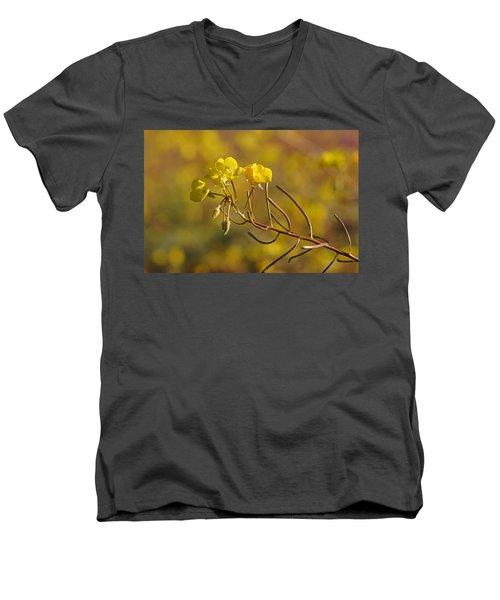 Death Valley Superbloom 301 Men's V-Neck T-Shirt by Daniel Woodrum