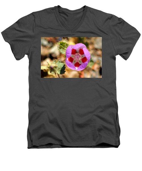 Death Valley Superbloom 504 Men's V-Neck T-Shirt
