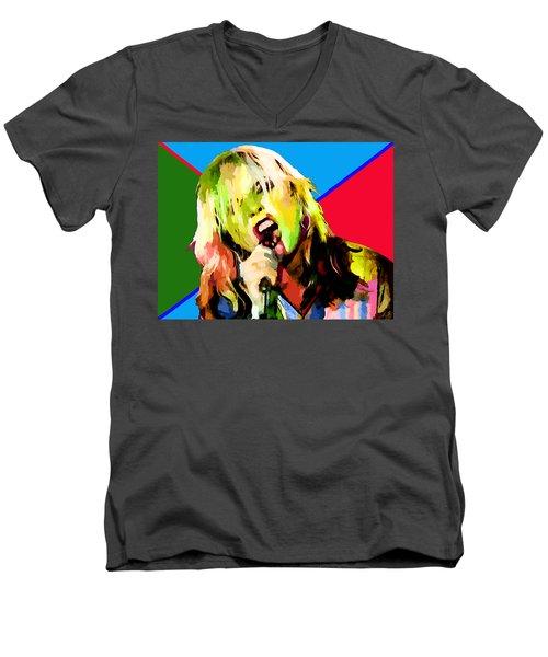 Debbie Harry Collection - 1 Men's V-Neck T-Shirt