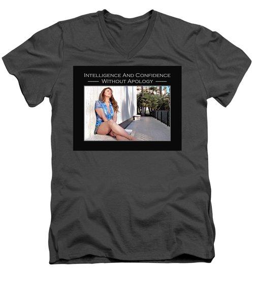 Debra Valentine 4-240 Men's V-Neck T-Shirt