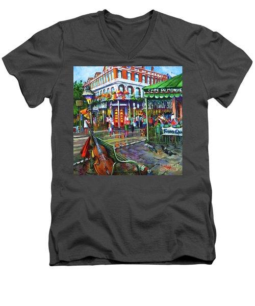Decatur Street Men's V-Neck T-Shirt