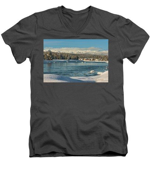 December Dream Men's V-Neck T-Shirt