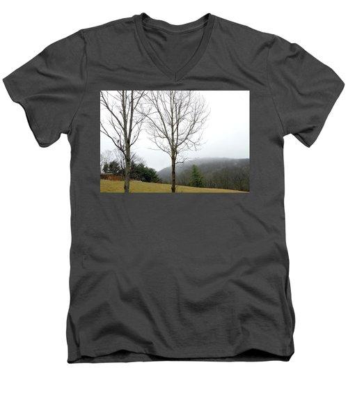 December Mist Men's V-Neck T-Shirt