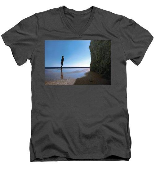 Decent Exposure Men's V-Neck T-Shirt