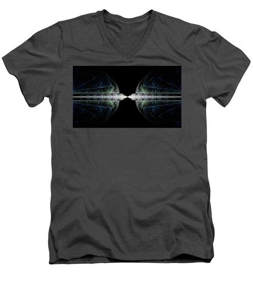 Deco And Diamonds Men's V-Neck T-Shirt