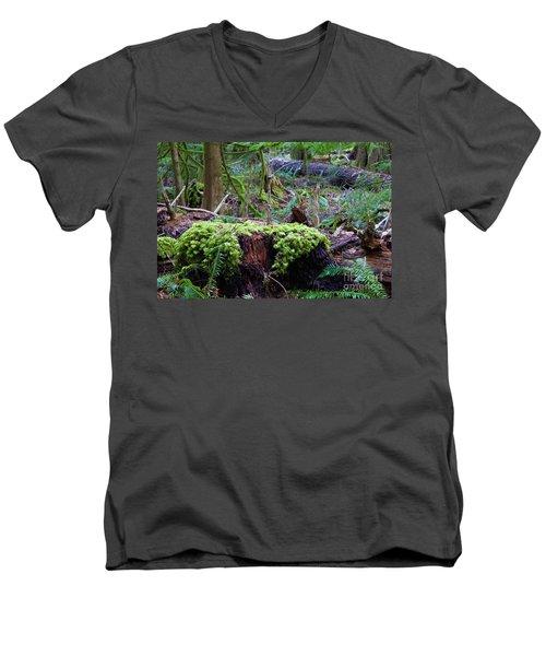 Decomposers Men's V-Neck T-Shirt