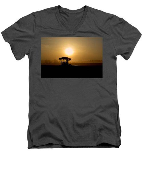 Dedication Of A Farmer Men's V-Neck T-Shirt