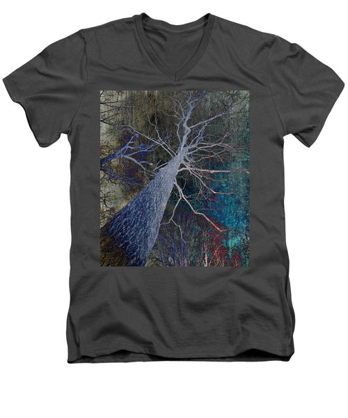 Deep In The Woods Men's V-Neck T-Shirt